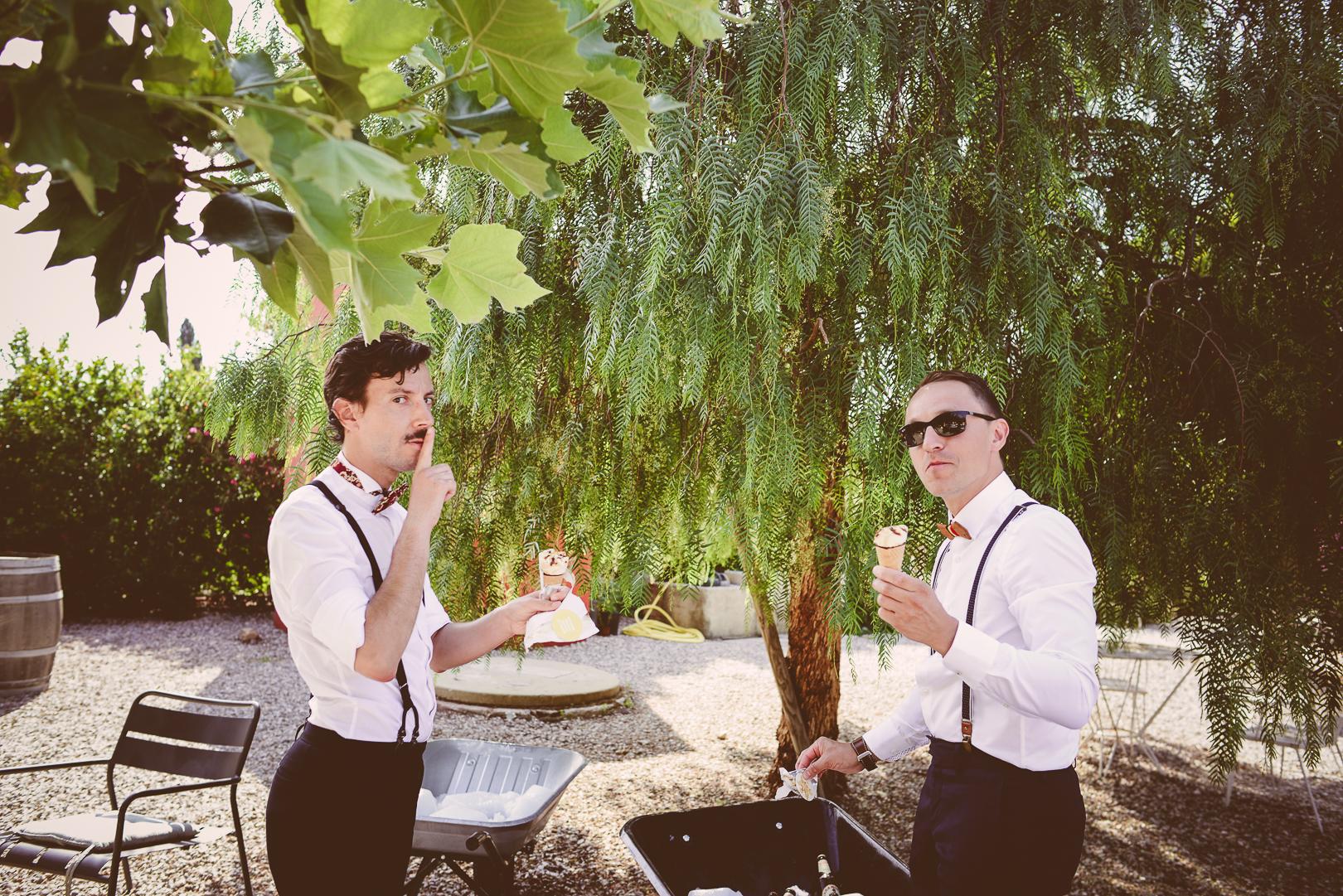 photographe Perpignan mariage lesbien clos des aspres